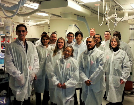 Mba Students Tour Hackensack University Medical Center The